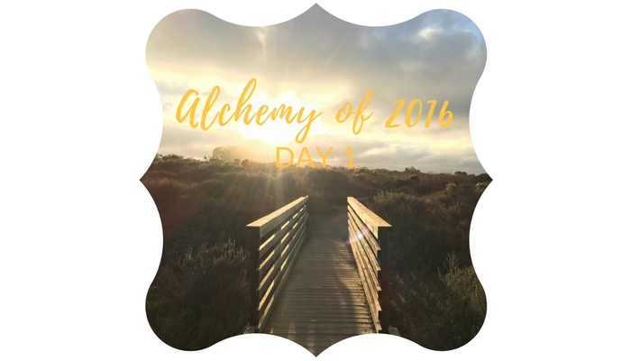 Alchemy of a year ending