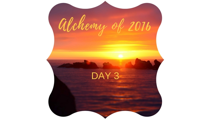 Alchemy of a year ending day three